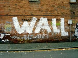 """""""Wall"""" in Fitzroy"""