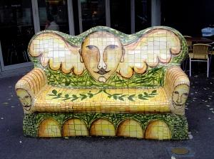 Giuseppe Roneri - Victoria St. bench