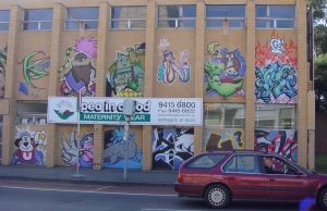 Collingwood graffiti 2009