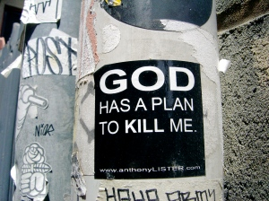 God Has a Plan to Kill Me (Melbourne)
