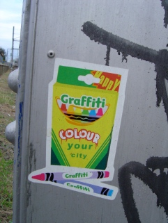 Happy - Graffiti Colour My World in Brunswick