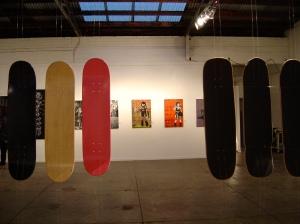 Melbourne Stencil Festival 09 exhibition