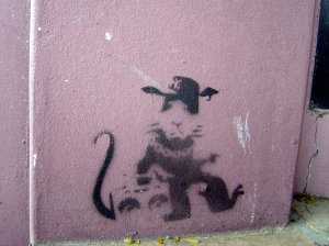 Forged Banksy