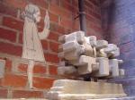 Paste-up & sculpture