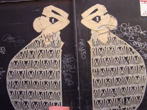 Paste-ups by Miso