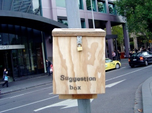 Nick Ilton, Suggestion Box, Melbourne