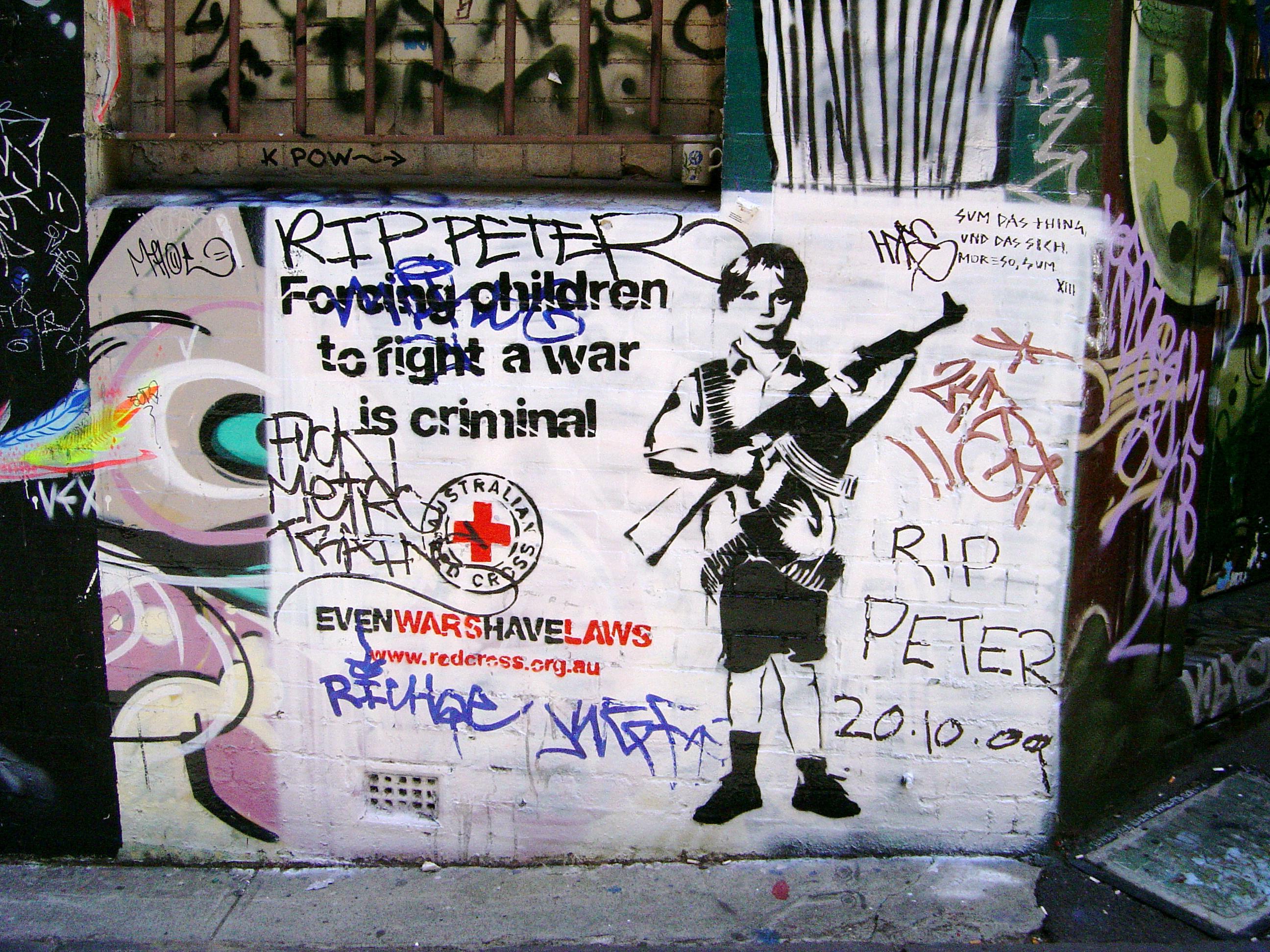 Political Art Black Mark