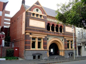Victorian Artists Society - Romanesque Revival building
