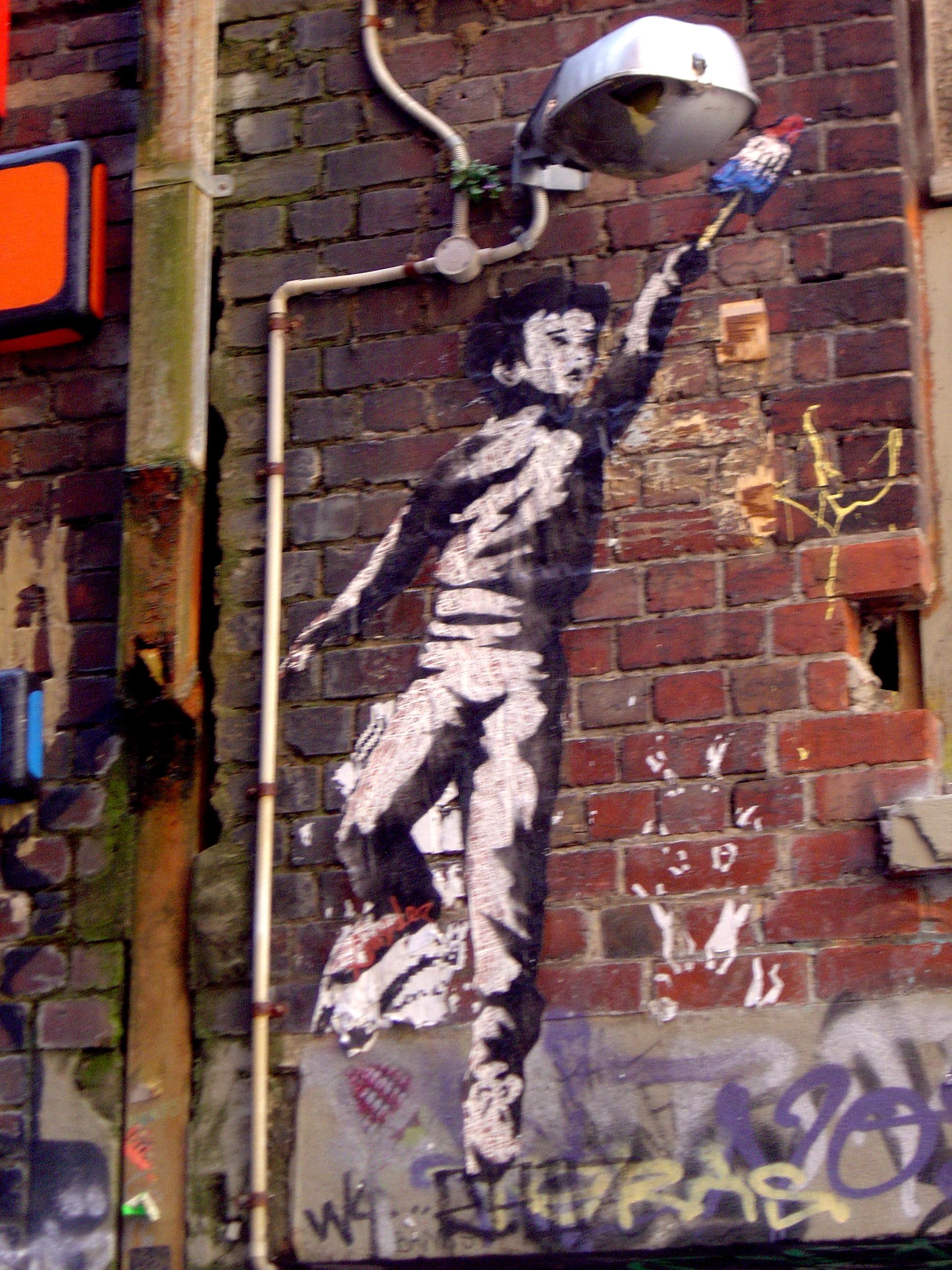Melbourne Stencil Festival | Black Mark