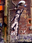 Snyder, Rocket Pop Boy, Hosier Lane