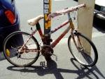 Yarn bombed bicycleCollingwood