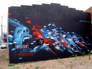 "Adnate & Slicer ""Nothing Lasts Forever"" Brunswick Station, 2012"