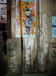 Cocker Alley Banksy Tributes