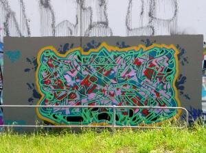Upfield line wall - Brunswick