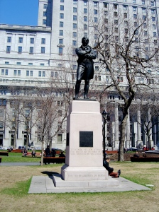 Robert Burns Memorial, 1904, G.A. Lawson in Montreal