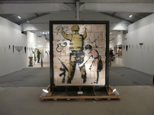 'Out of Context' Banksy exhibition at Miami Art Basel