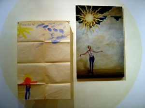 "Belinda Wiltshire ""Bask"" 1985 & 2013 at Tinning Street presents..."