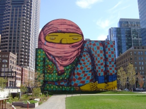 Os Gêmeos, Boston