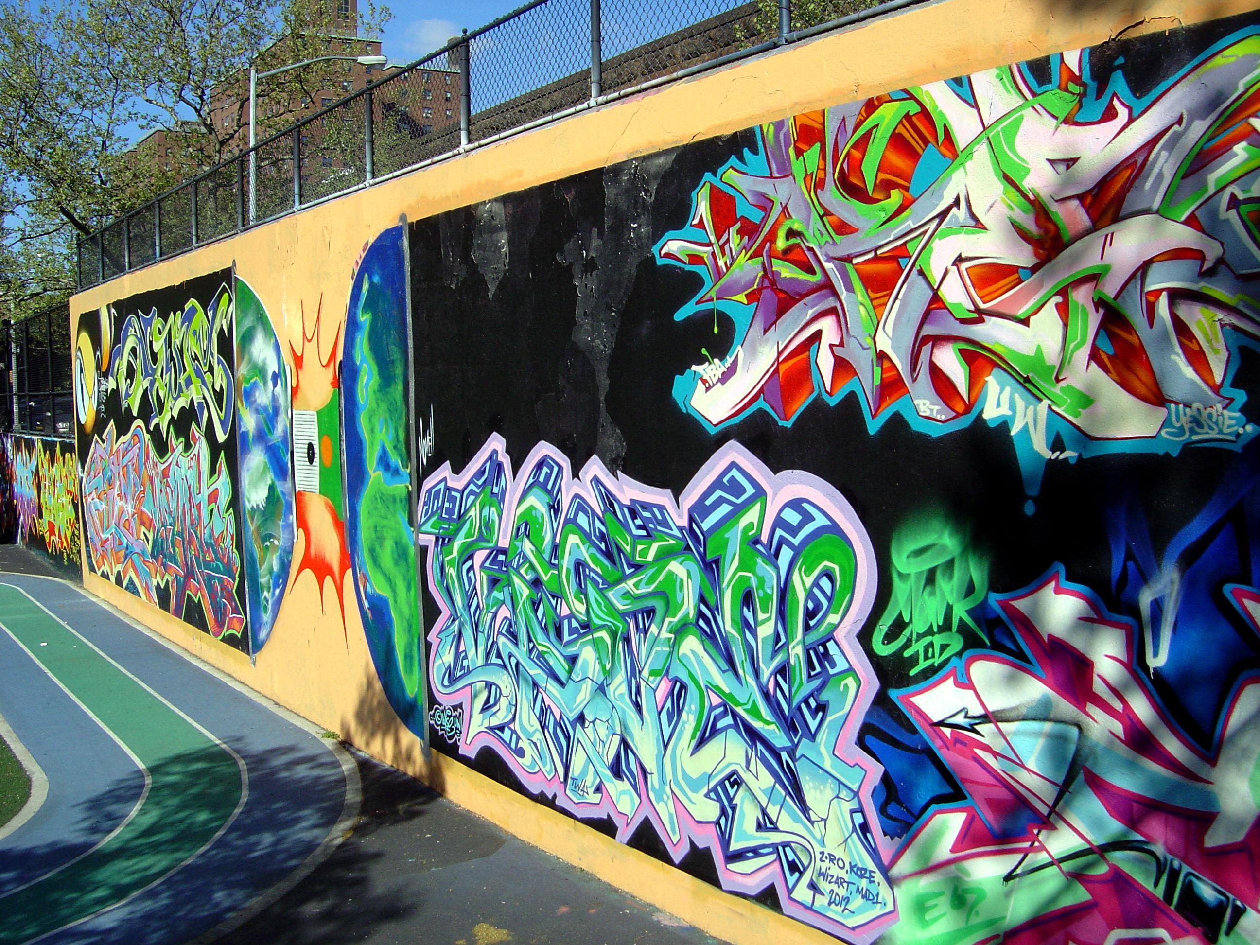 28 pics photos graffiti walls nyc nyc revok and pose mural