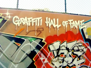 Graffiti Wall of Fame, Harlem, NYC