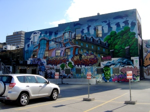 Wall, London, Ontario, Canada