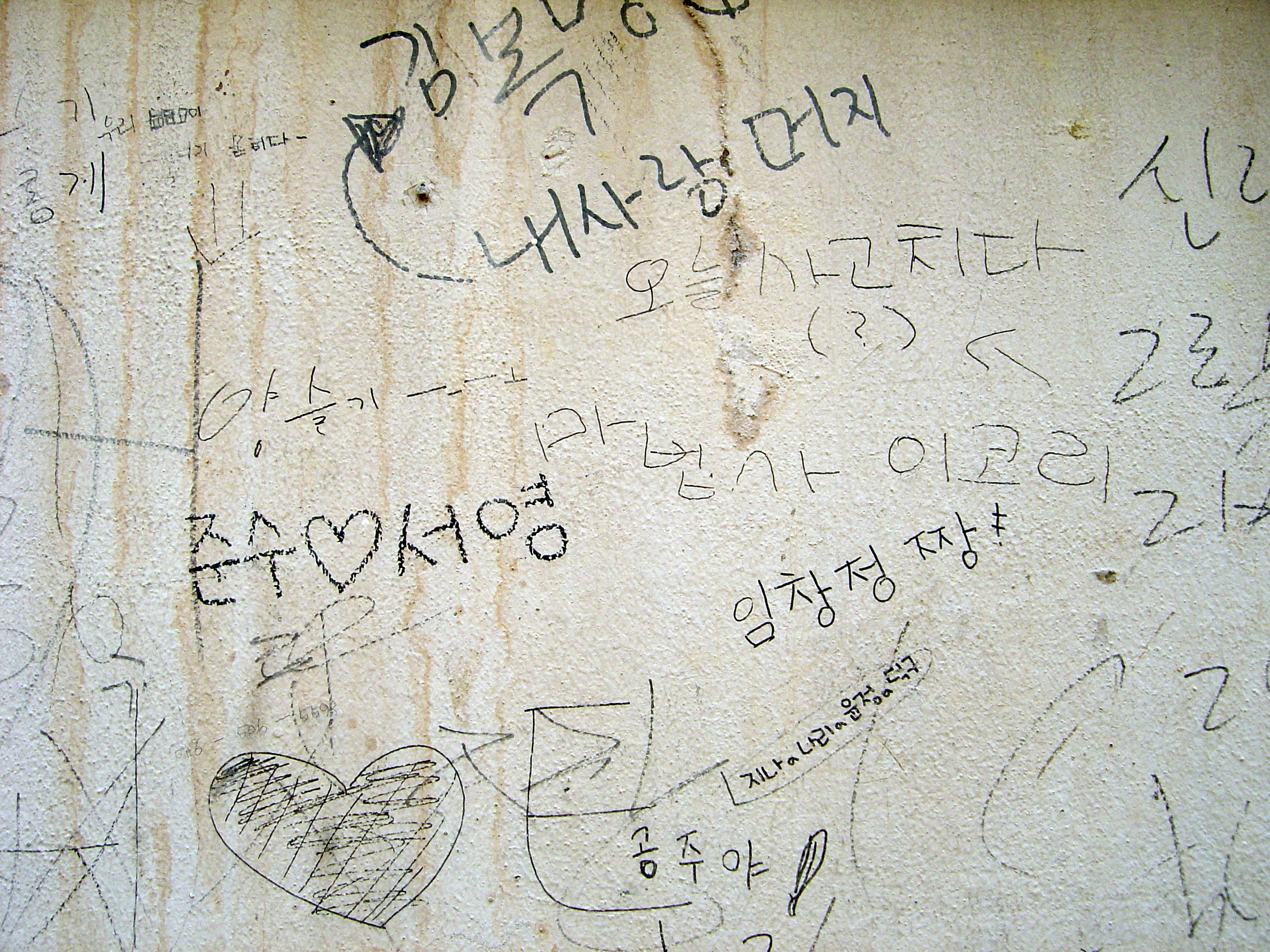 Graffiti wall pictures - Korea Graffiti Wall