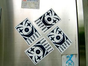 Zacpot sticker, Seoul