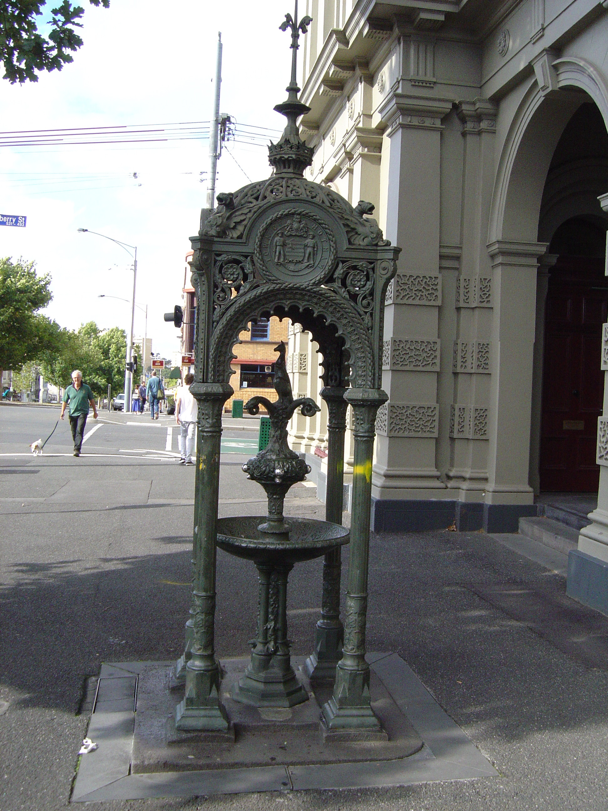 Cast Iron Fountains Melbourne The Best Fountain In The World