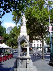 The Duke & Duchess of York Memorial Drinking Fountain, 1901, corner of Elizabeth and Victoria St.
