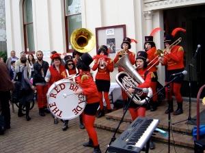 Red Brigade at the Mechanics Institute