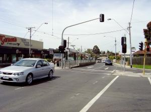 End of tram line Coburg
