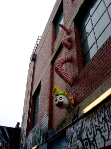 GT Sewell, Clown Serpent, 2013 (2 Blender Alley)