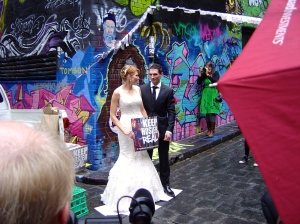 Bride keeping Hosier Real