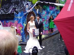Bride keeping Hosier Real