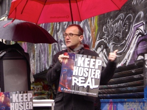 Adam Bandt Keep Hosier Real