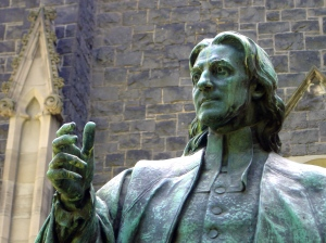 Paul Montford, John Wesley  statue,1935, Melbourne