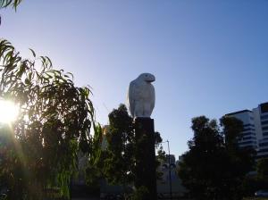 Bruce Armstrong, Eagle, 2002, Docklands