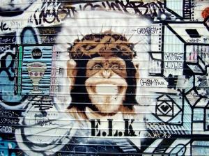 ELK Chimp Jesus