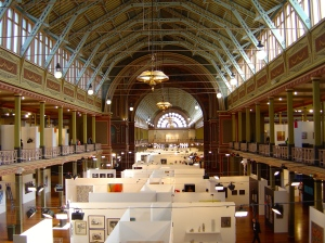 Melbourne Art Fair 2014 at the Exhibition Building