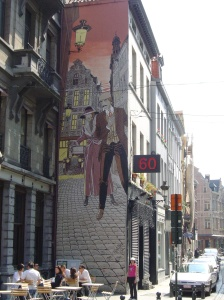 Brussels wall 2