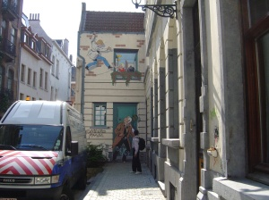 Brussels wall 4