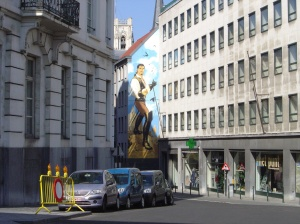 Brussels wall 5