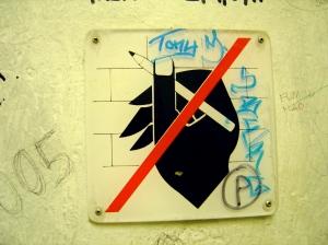No Graffiti - Brugge