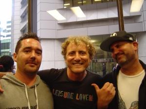 Luke Cornish, Dean Sunshine and Factor
