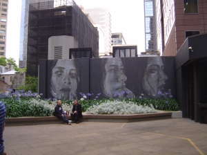 Rone murals, Lt Collins Street