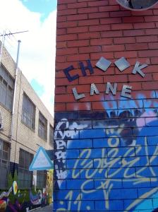 Chook Lane, Brunswick