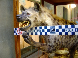 Rod McRae, The Case of the Laughing Hyena, 2012