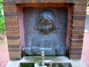 Ola Cohn, detail of Curnow Memorial drinking fountain