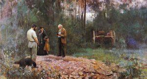 Frederick McCubbin A Bush Burial 1890