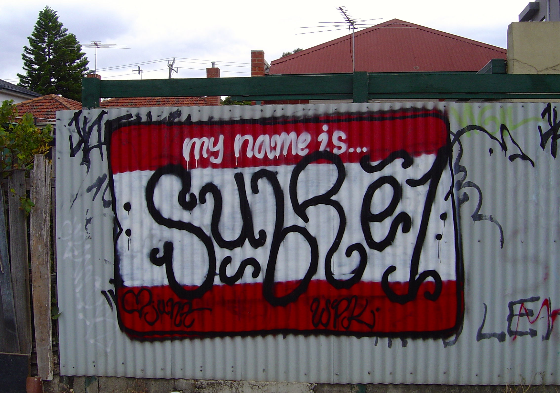 My name is subre1